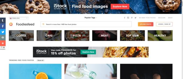 free stock fotos for food